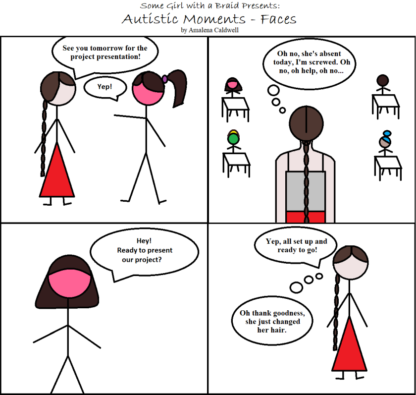 Autistic Moments - Faces